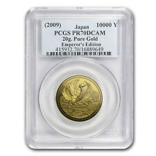 2009 Japan Gold 10K 20th Anniv Emperor's Enthronement PR-70 PCGS - SKU#89311