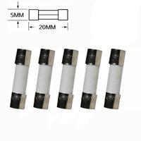 20Pcs F3.5AL250V 5x20mm F3.5AL Fast Acting Fast Blow Fuse 250v 3.5A 3500mA