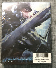 Metal Gear Solid Rising Steelbook sealed -no Game- ps4 format