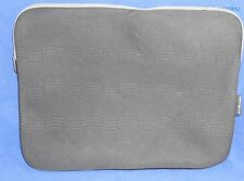 "Used Targus Debossed Neoprene Laptop Sleeve - Black/Grey 15.6"" TSS588US"