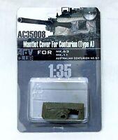 AFV Club 1/35 AC35008 Mantlet Cover for Centurion Type A MK.6/2, MK.11, MK.5/1