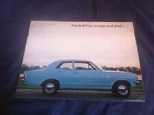 1966 Vauxhall Viva Full Line Original Color Brochure Prospekt
