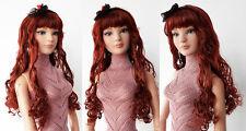 """Sherry Fashion Wig FOR BJD ELLOWYNE Blyth 22"""" AMERICAN MODEL TONNER DOLL(1SAW-17"""