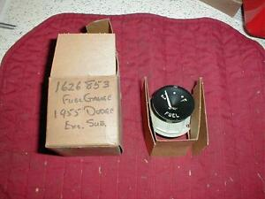 NOS MOPAR 1955 DODGE FUEL GAUGE CORONET ROYAL D500