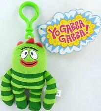 Yo Gabba Gabba Plush BROBEE Clip-On Plush Toy Wildbrain Nick Jr. Basic Fun NEW