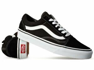 Vans Old Skool Black Unisex Sneaker Leder Canvas VN000D3HY281 Gr.35 - 45 EU