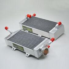 aluminum alloy radiator HONDA CRF 250R CRF250X 2004 2005 2006 2007 2008 2009