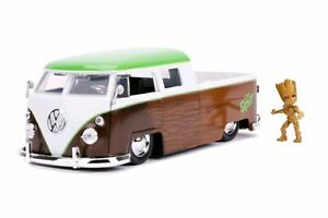 1:24 Diecast Model Car > Gift Ideas> Guardians of the Galaxy>1962 VW with Groot