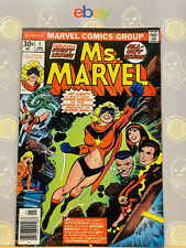 Ms. Marvel #1 (8.5) VF+ 1st Solo Series 1977 Bronze Age Marvel Comics Key Issue