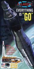 Atlantis 1833  Atlas Rocket With Mercury Capsule + Launch Tower model kit 1/110