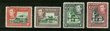 St Vincent   1951  Scott #176-179  Mint Never Hinged Set