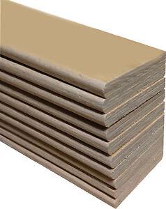 Replacement Sprung  Bed Slats - 3ft Single Beech Slats Various Widths & Lengths