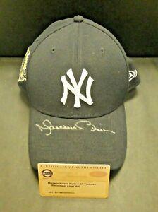 Mariano Rivera Signed NY Yankees Retirement Cap with Steiner COA