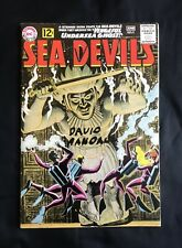 SEA DEVILS #5 (MAY-JUN '62) RUSS HEATH ART GREY TONE COVER HIGHER GRADE F+