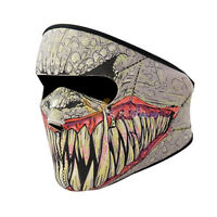 Full Face Neoprene Reversible Biker Skateboard Motor Bike Scary Sports Mask