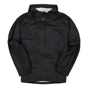 Nike ACG Packable Rain Coat Mens Jacket Black Size L Sportswear Windbreaker Top