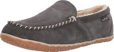 Minnetonka Men's Tilden Moccasin Suede Indoor and Outdoor Slippers