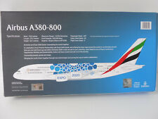 EMIRATES EXPO 2020 BLUE Airbus A380-800 1/250 Herpa Snap Fit EXCLUSIVE DUBAI