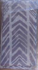 NEW COULEUR NATURE LINENS French Cotton BATIK BLUE ish W CREAM ARROW  4 Nap