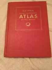 1943 Rand McNally Ready Reference Atlas of the World Maps WWII War Zone HC Book