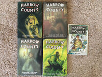 Graphic Novel Lot Harrow County Library Edition Vol 1 NEW 2 3 4 Hardcover TPB
