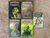 Graphic Novel Lot Harrow County Library Edition Vol 1 NEW 2 3 4 Hardcover TPB