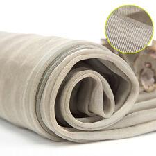 Silver Fiber Conductive Fabric Mesh RF/EMI/EMF/LF Blocking/Microwave Shielding
