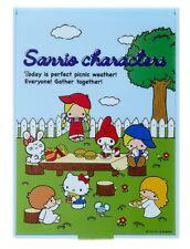 Sanrio Hello Kitty & Friends sujeción ESPEJO ' 70s Jardín - Estilo Retro (Azul)