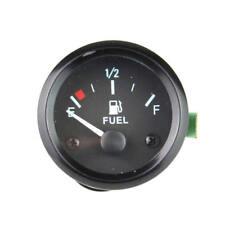 2'' 52mm Universal Car 12V Fuel Level Gauge Meter With Fuel Sensor E-1/2-F 12V