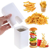 Perfect Fries One Step French Fry Cutter Vegetable Fruit Slicer Potato Cutter