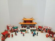LEGO 80105 Seasonal Chinese New Year Temple Fair set 100% Complete w/Instruction