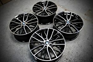 "19"" 3 / 4 SERIES ALLOY WHEELS PERFORMANCE 405M D SPOKE E90 BMW F30 F32 M SPORT"