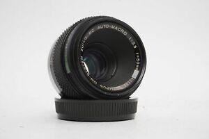 Olympus OM Zuiko MC 3.5 / 50mm macro lens