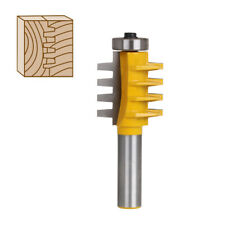 Tongue Groove Router Bits 1/2 Inch Shank Wood Milling Cutter Tool Tungsten Steel