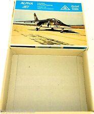 Alpha chorro erdkampfflugzeug ROSKOPF 55 Nur Der VACIO cartón Caja Vacía HQ4 å
