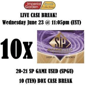 2020-21 SP GAME USED (SPGU) 10 BOX CASE BREAK #2574 - Minnesota Wild