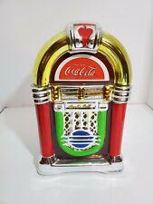 Coca-Cola Jukebox Cookie Jar