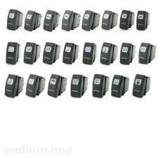 Tastschalter Wippschalter ON-OFF-ON 6 Anschlüsse + Symbol 12V Boot Auto KFZ