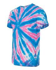 Dyenomite Glow in the Dark T-Shirt Pinwheel Tie Dye 200GW S-3XL