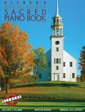 Alfred's Basic Adult Piano Course Sacred Book 1 2468
