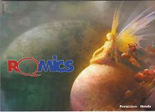 2016 ROMICS FOLDER FESTIVAL INTERNAZIONALE FUMETTO ANIMAZIONE CON ANNULLO