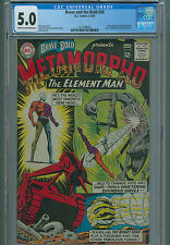 Brave And The Bold 58 CGC 5.0 2nd App Metamorpho The Element Man DC Comics