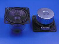 """1pcs 2.5"""" inch 4Ohm 4Ω 15W Full Range Audio Speaker Stereo Woofer Loudspeaker PU"""