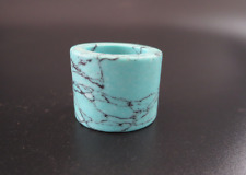 Old Chinese,Turquoise Jade,manual sculpture,Thumb Ring,Fingerstall Y1272