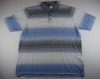 Pierre Cardin Herren Poloshirt Gr.3XL weiß gestreift -S685