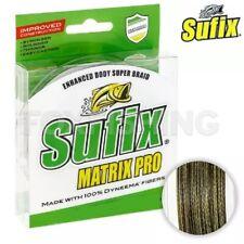 250m vert tressées ficelle fil de pêche Sufix matrix pro 0,38mm//37,00kg