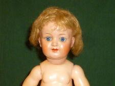 Alte Porzellankopfpuppe Puppe Masse Pappmaschee ? Porzellanpuppe Doll Puppen