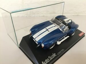 OLD VERY Rare Kyosho MINI-Z Racer Body SHELBY COBRA 427S/C BLUE Japan F/S