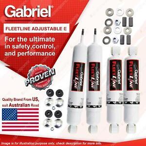 Gabriel Front + Rear Fleetline Adjustable HD Shocks for Toyota Dyna BU HU YU