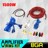Car Audio 8Gauge Cable Kit Amp Amplifier Install RCA Subwoofer Sub Wiring Set